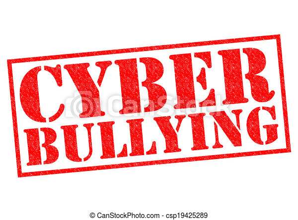 cyber bullying red rubber stamp over a white background rh canstockphoto com stop cyber bullying clipart cyber bullying pictures clip art