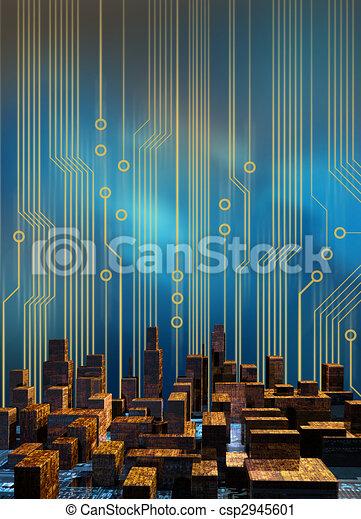 Cyber City Circuits - csp2945601