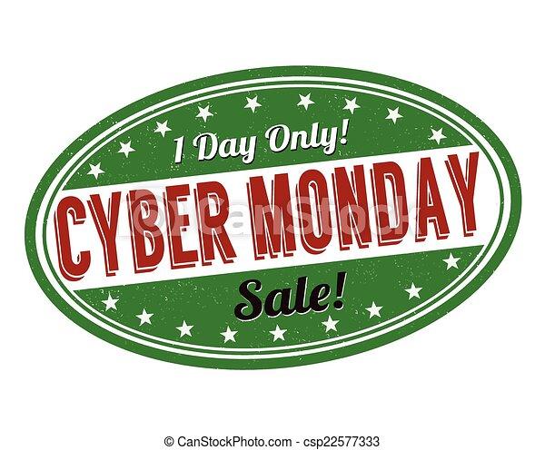 Cyber Monday stamp - csp22577333
