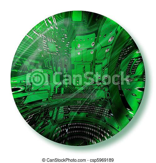 cybernetic world - csp5969189