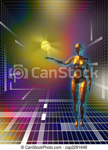Cyberspace - csp2291648