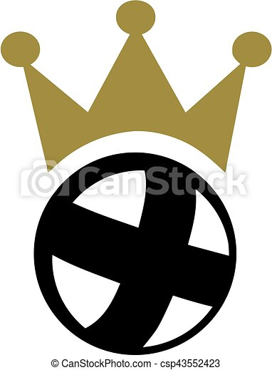 cycle ball with crown vector illustration search clipart drawings rh canstockphoto com crown vector clipart pageant crown vector art