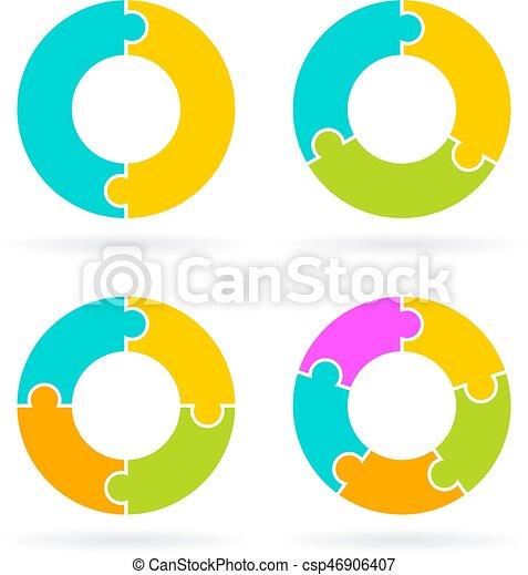cycle diagram template - csp46906407