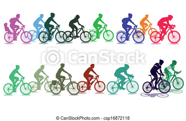 Cycling in the group - csp16872118