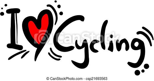 Cycling love - csp21693563