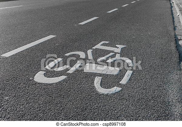 cycling, meldingsbord - csp8997108