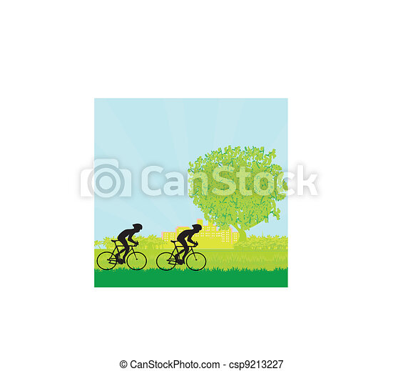 Cycling Poster  - csp9213227