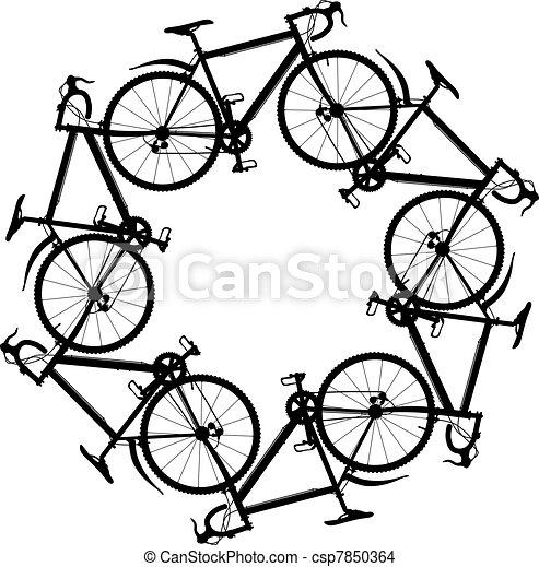 cyclisme, autour de - csp7850364