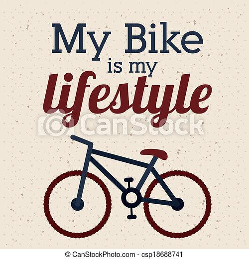 cyclisme, conception - csp18688741