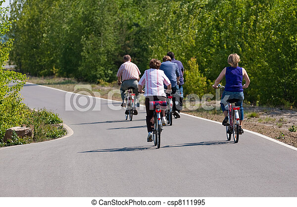 cyclisme, famille - csp8111995