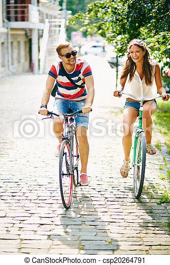 cyclisme, parc - csp20264791