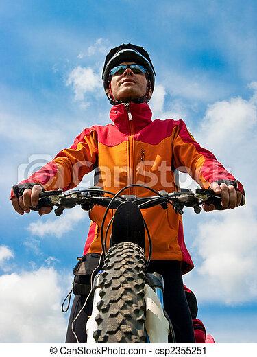 Cyclist - csp2355251