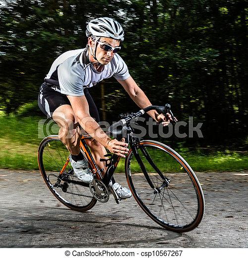 cyclist - csp10567267