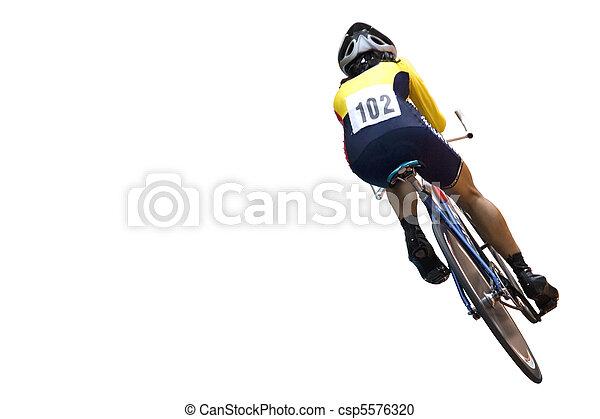 cycliste - csp5576320