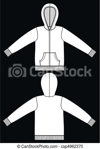 część garderoby, rys - csp4962370