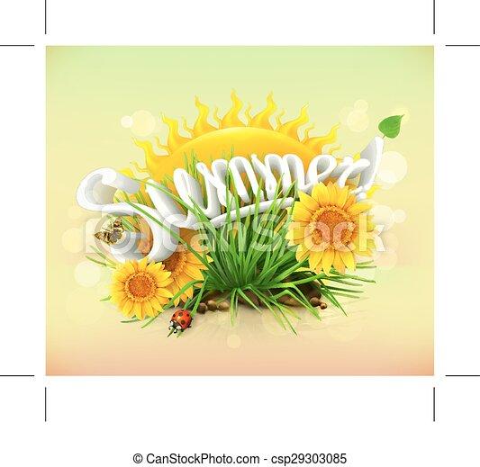czas, lato, urlop - csp29303085