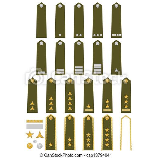 Czech army insignia - csp13794041