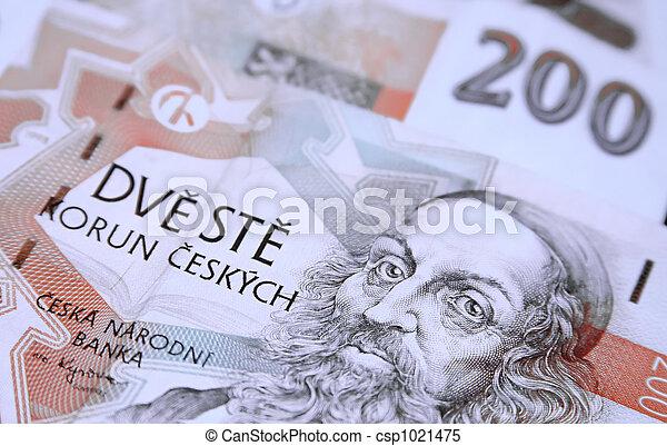 Czech Republic currency 1 - csp1021475