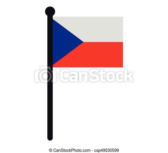 Czech Republic flag - csp49530599
