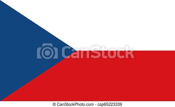 Czech Republic Flag - csp65223339