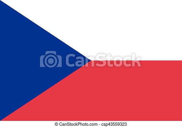 Czech Republic flag - csp43559323