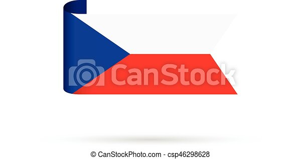 czech republic flag - csp46298628