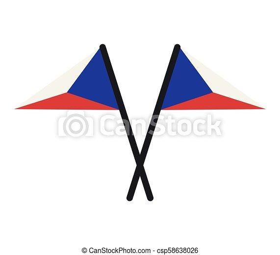 Czech Republic flag - csp58638026