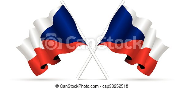 czech republic flag - csp33252518