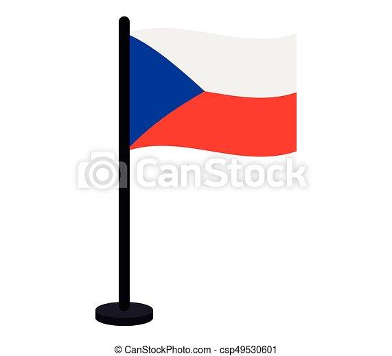 Czech Republic flag - csp49530601