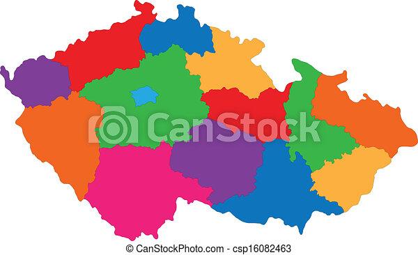 Czech Republic map - csp16082463