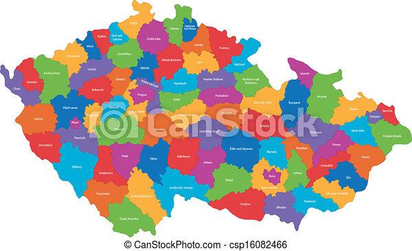 Czech Republic map - csp16082466