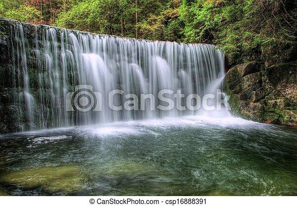 Czech Waterfall - csp16888391