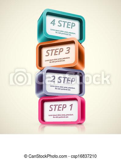 cztery, kroki - csp16837210