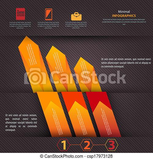 czuć się, używany, nowoczesny, wektor, projektować, może, infographics, szablon - csp17973128