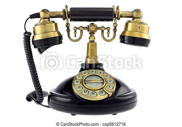 dávný telephone, podoba - csp5612716