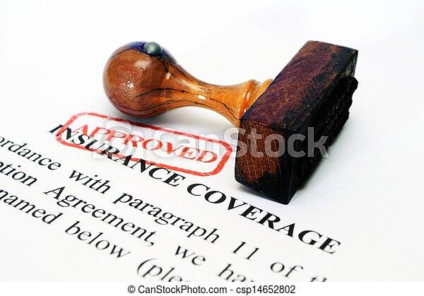 dækning forsikring - csp14652802