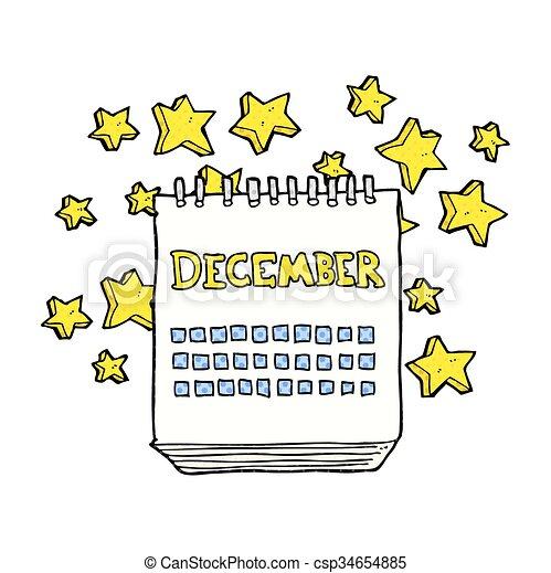 Calendrier Dessin Anime.Decembre Projection Calendrier Dessin Anime Mois