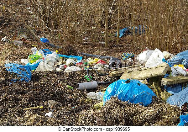 décharge ordures, 05 - csp1939695