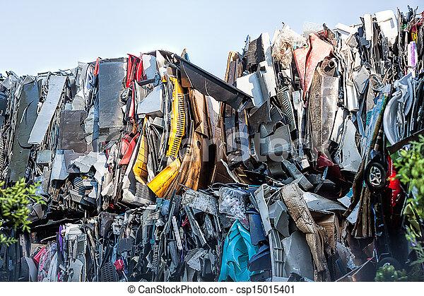 décharge ordures - csp15015401