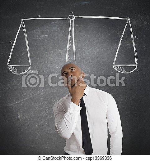décision, business - csp13369336