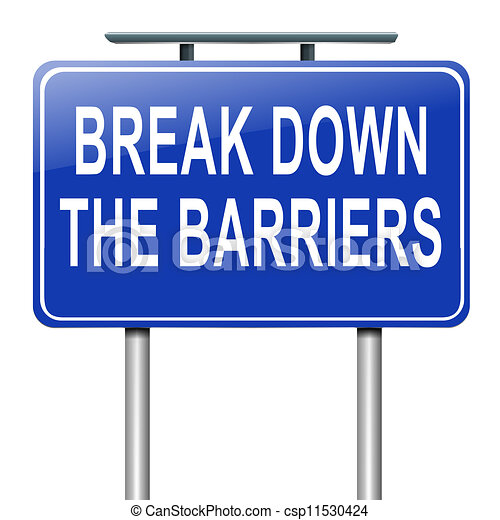 décomposition, barriers. - csp11530424