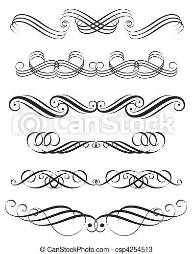 décoration, éléments - csp4254513
