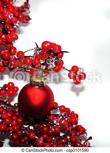 décoration, noël - csp0101590