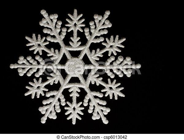 D coration noir flocon de neige fond no l - Flocon de neige decoration ...