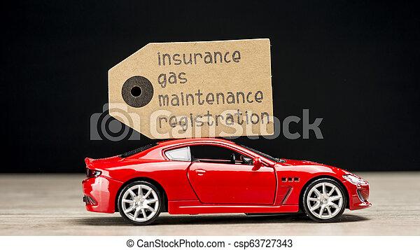 dépenses voiture - csp63727343