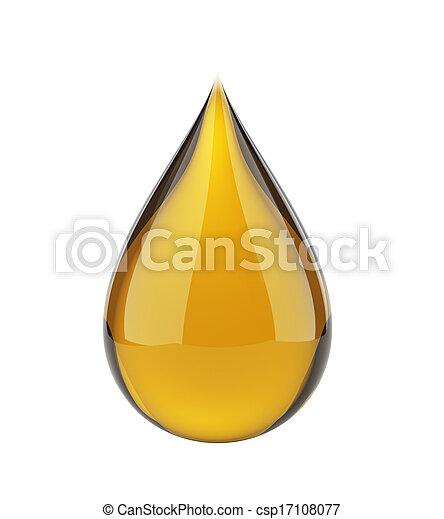 dépot pétrole, blanc - csp17108077