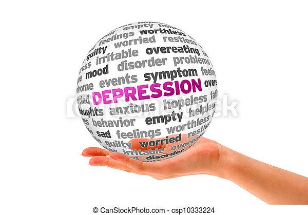 dépression - csp10333224