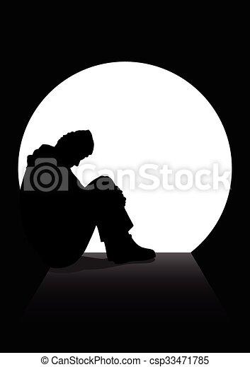 dépression - csp33471785