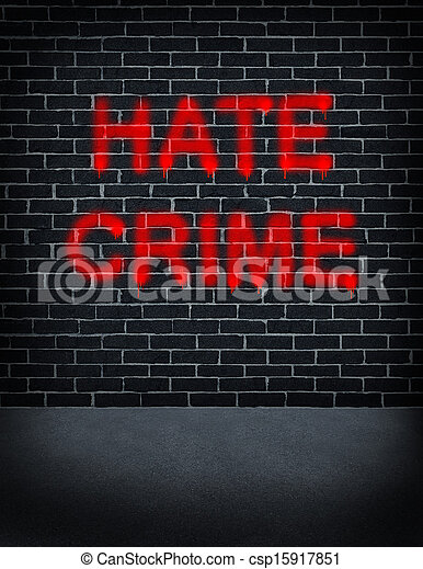 détester crime - csp15917851