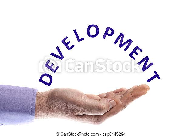 développement, mot - csp6445294